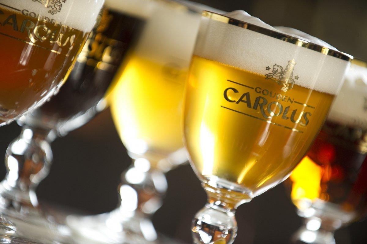 Cerveza Gouden Carolus que homenajea a Carlos V