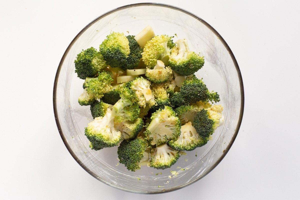 Cocer el brócoli en el microondas