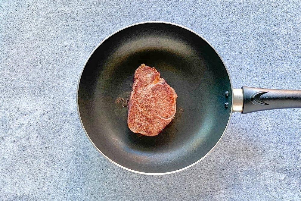 Cocinar el solomillo vuelta y vuelta