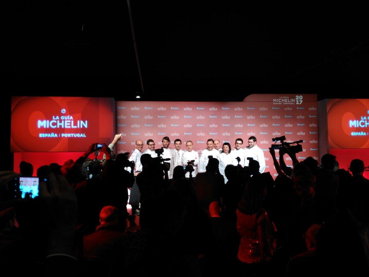 Cocineros de restaurantes que han entrado en la Guía Michelin