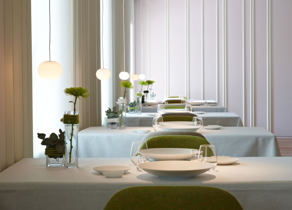 Comedor del Hotel Gastronómico Echaurren
