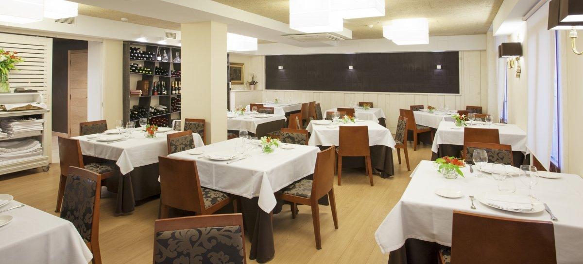 Comedor del restaurante Casa Urola