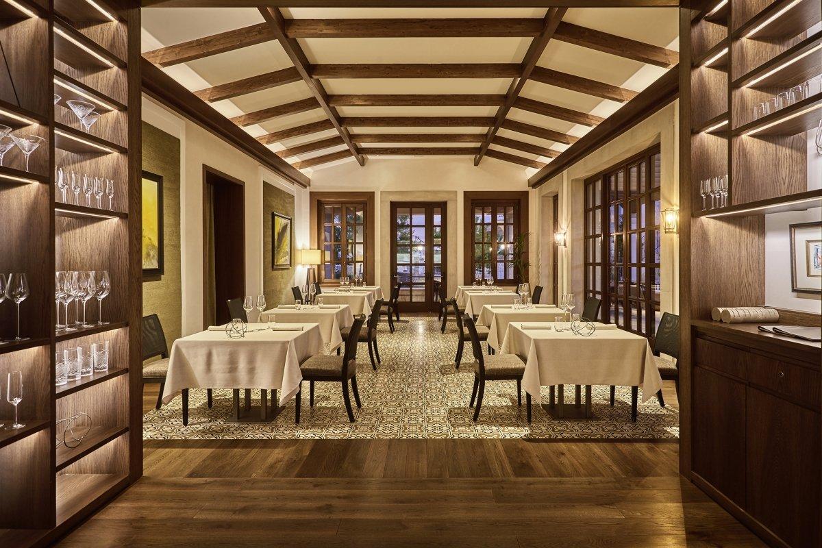 Comedor del restaurante Voro Park Hyatt Mallorca