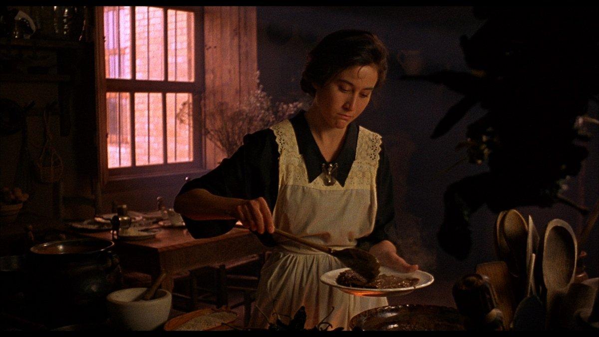 """""""Como agua para chocolate"""", basada en el libro homónimo de la escritora mexicana Laura Esquivel"""