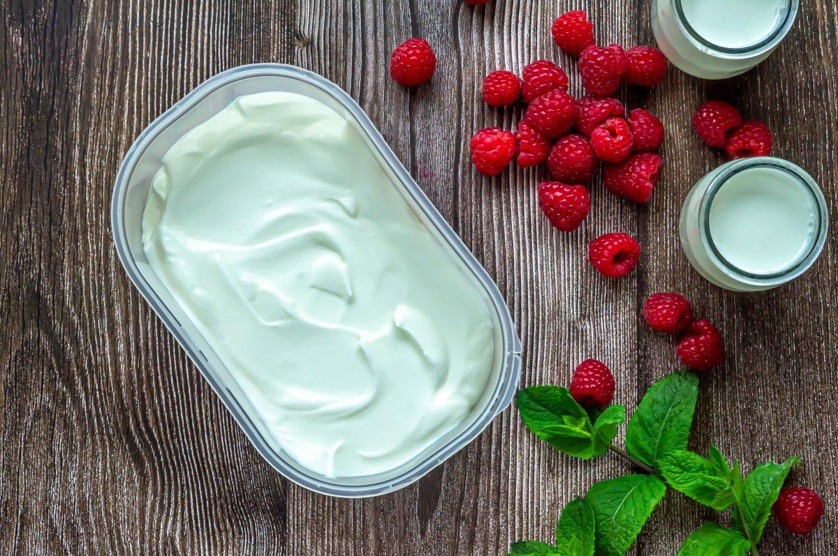 Congelar el helado de yogur
