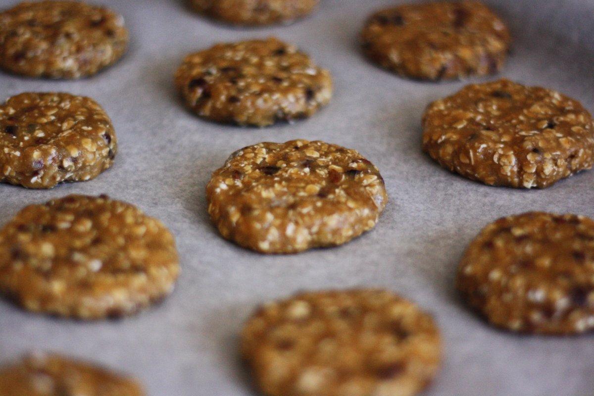 Cookies aplanadas para hornear