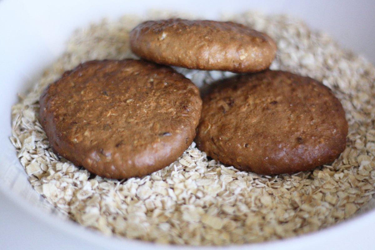 Cookies de chocolate horneadas