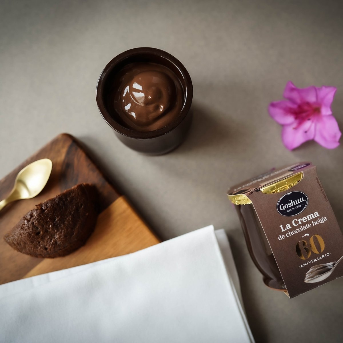 Crema de chocolate belga de Goshua