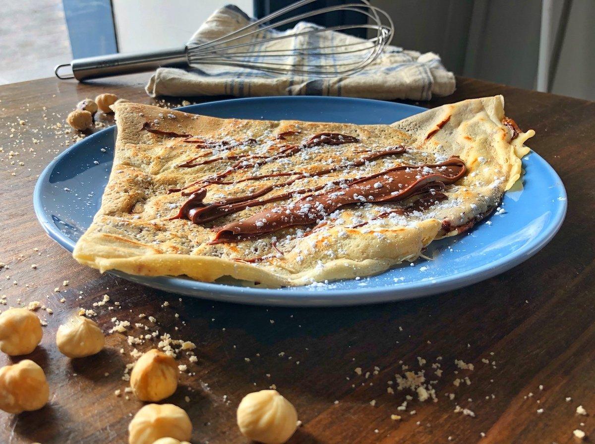 Crepe de avellanas y chocolate de Prep' La Crepe