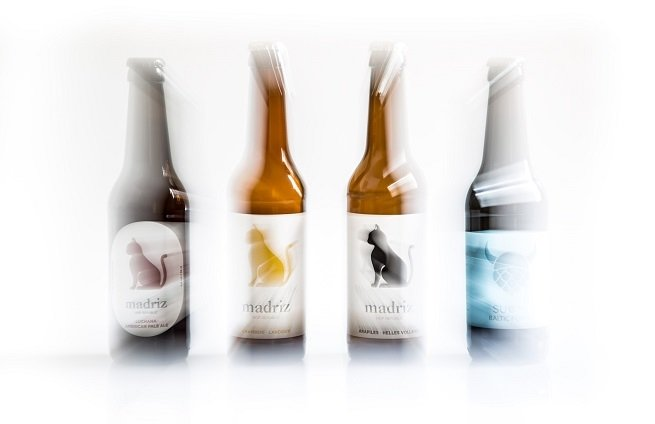 Cuatro variedades producidas por Madriz Hop Republic