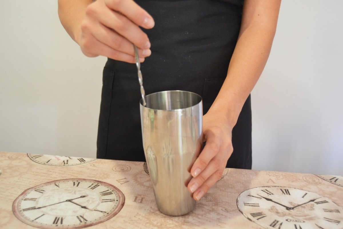 Cuchara removedora para mezclar ingredientes