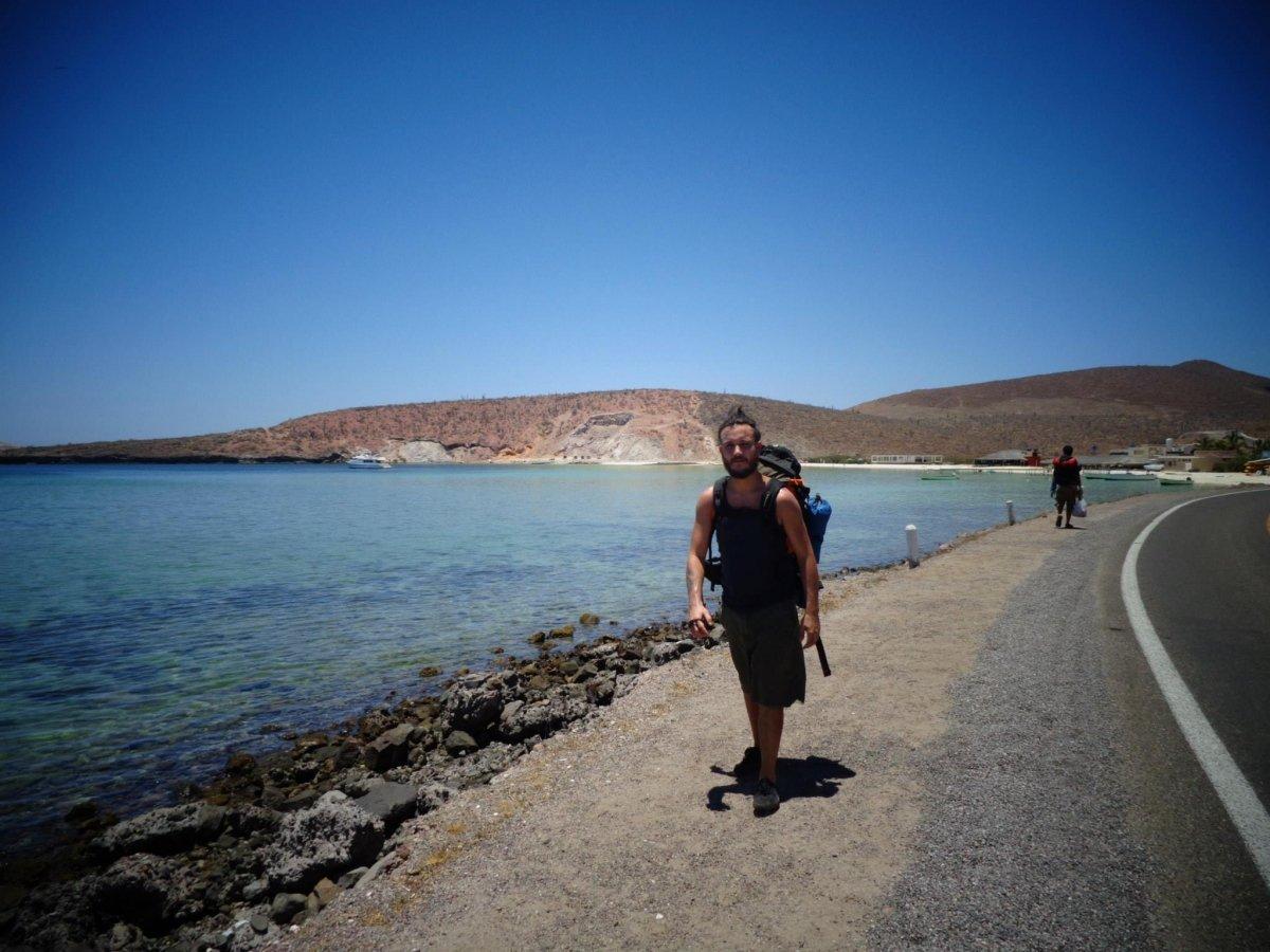 Daniel Pino de viaje