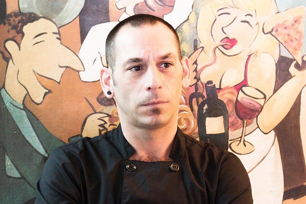 Dario Burattini, chef de La Pappardella