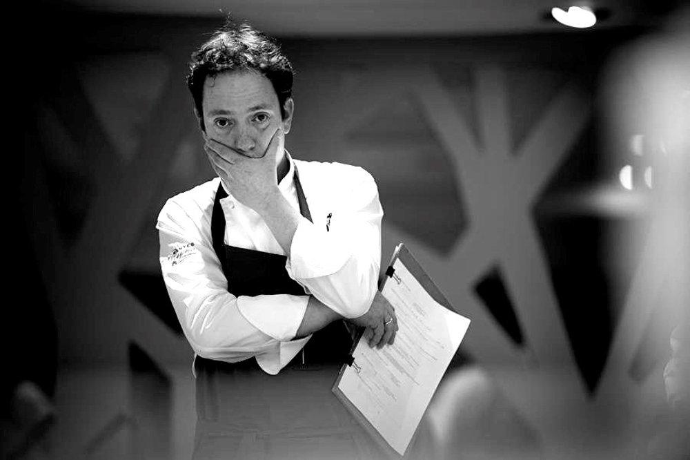 David Yárnoz, chef del restaurante El Molino de Urdániz