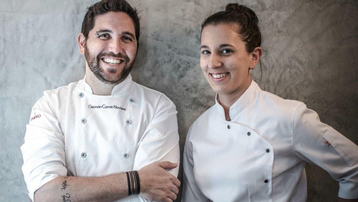 Germán Carrizo y Carito Lourenço, la libertad de dos cocineros atípicos