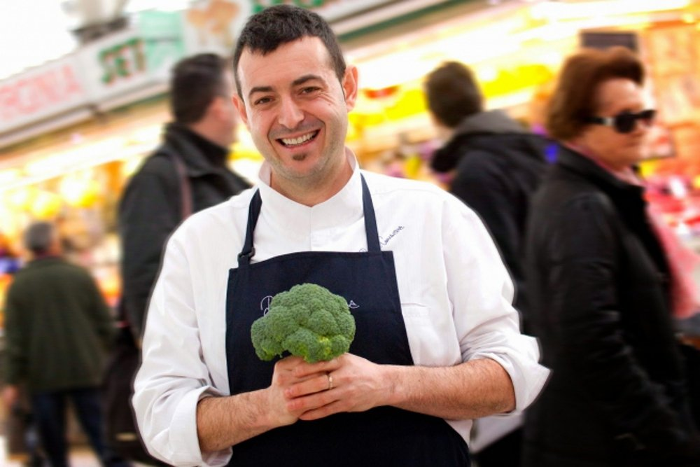 Ricard Camarena: 'Ahora cocino a expensas de la huerta'