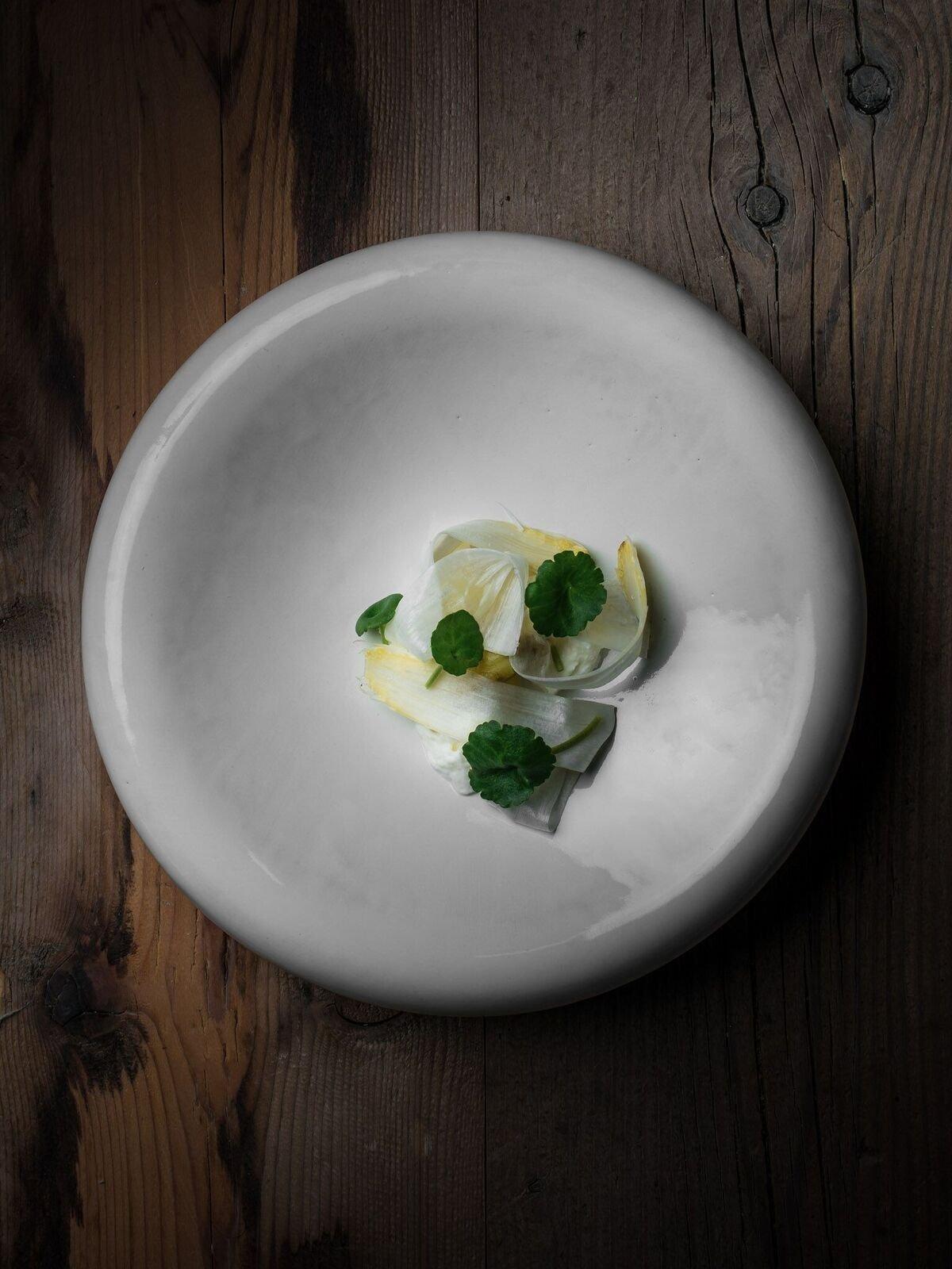 Delicado plato del restaurante Amelia