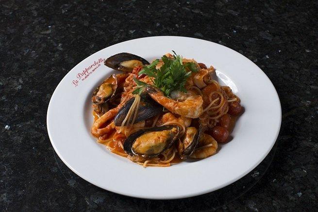 Delicioso plato de pasta elaborado por La Pappardella