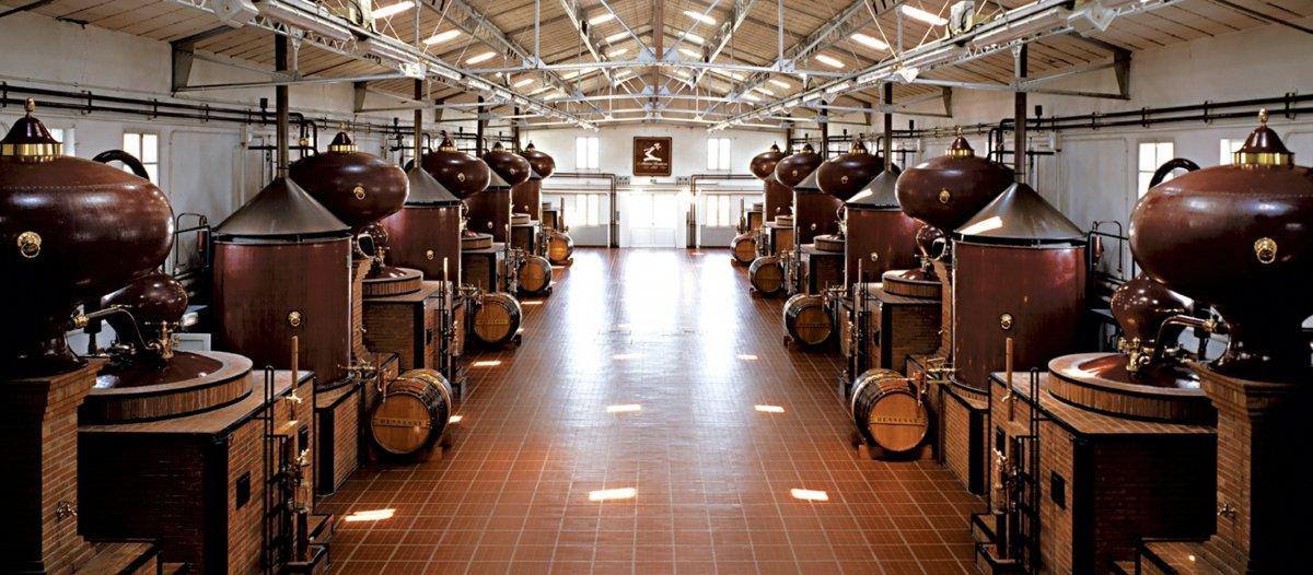 Destilería de Hennessy Privé