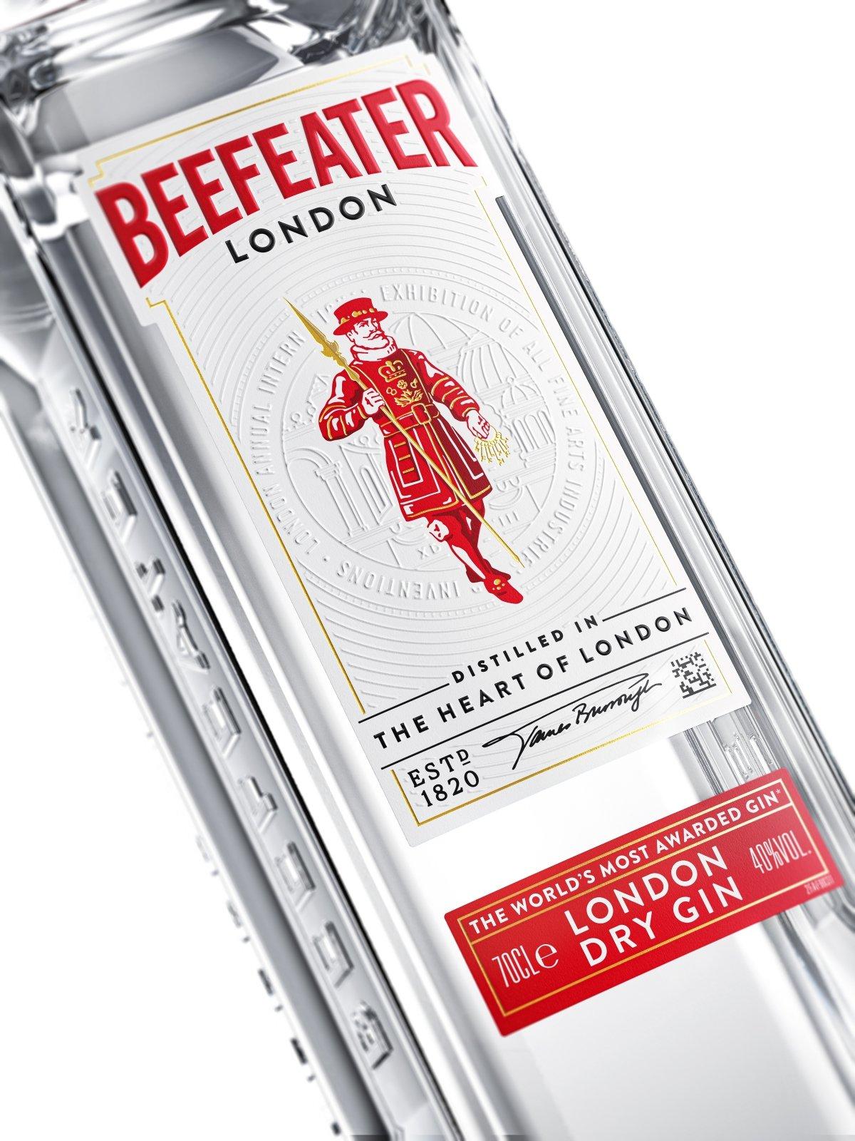 Detalle de la Beefeater London Dry