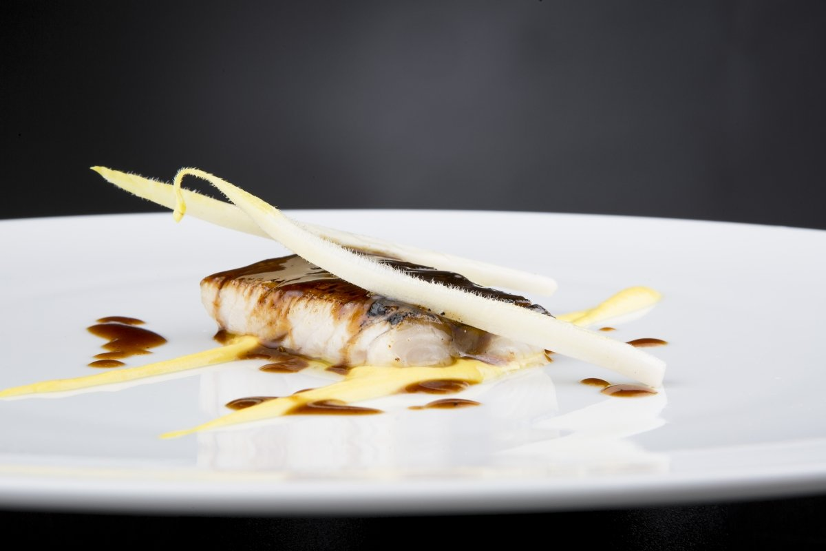 Detalle de un plato del restaurante Bardal