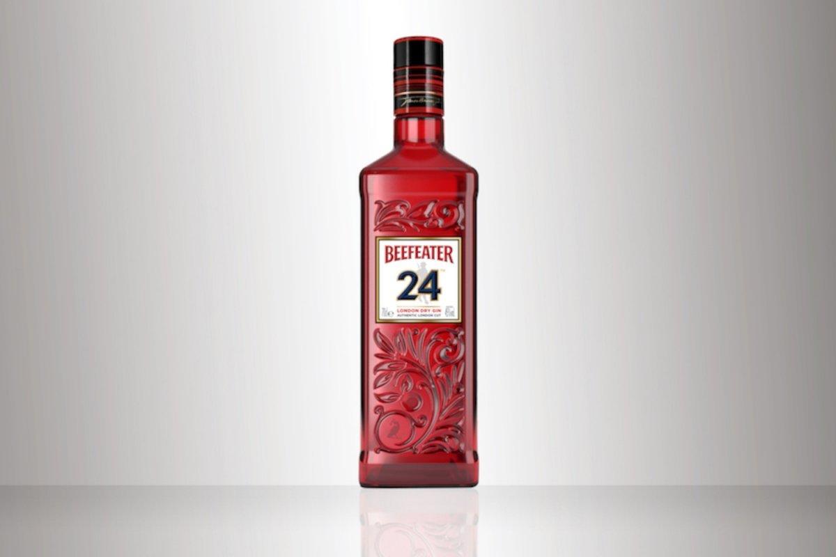 Detalles de la botella de la Beefeater 24