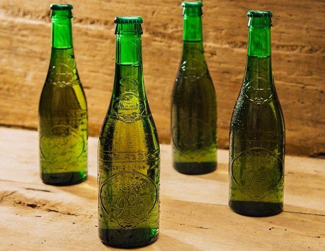 Diferentes botellas de Alhambra Reserva 1925