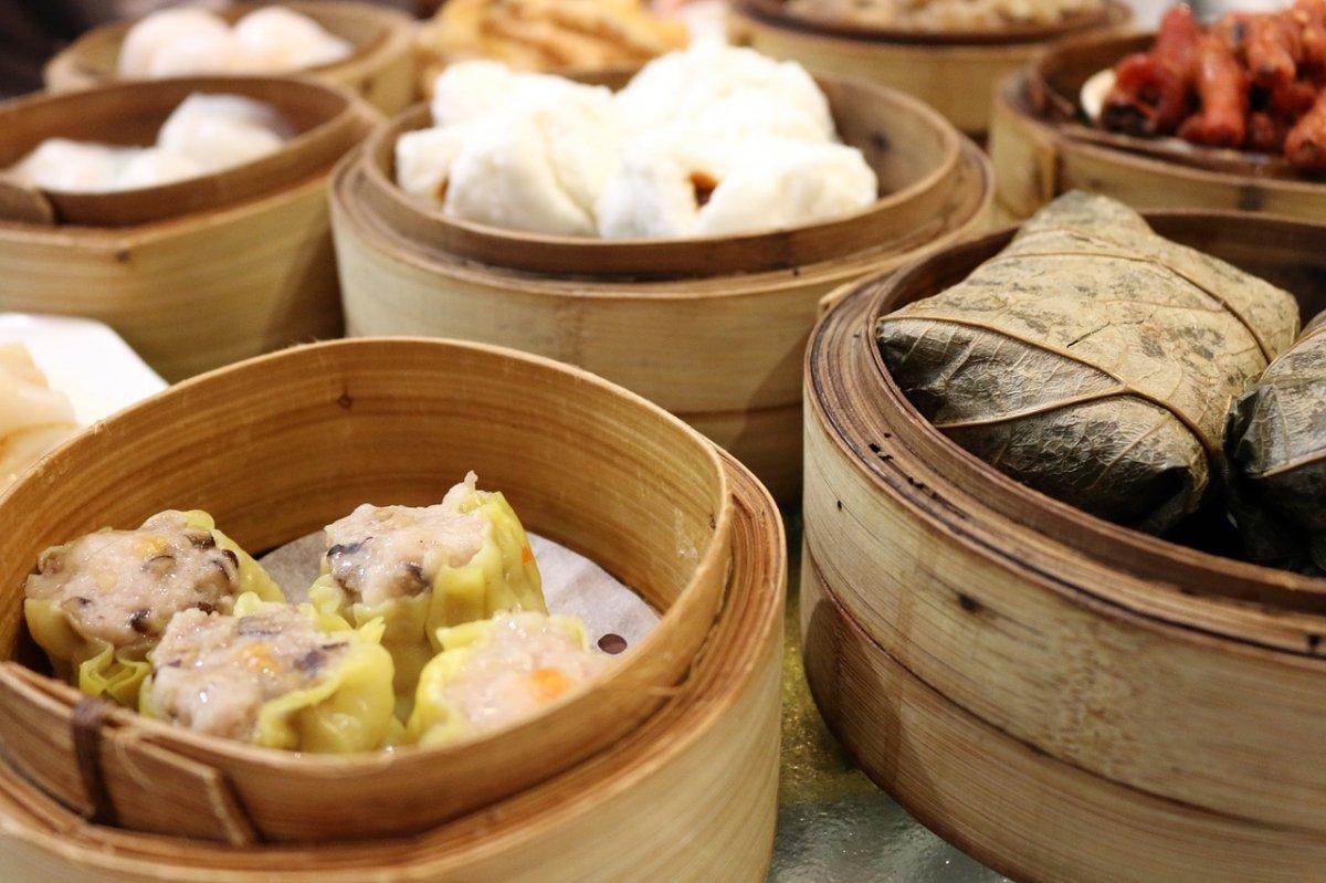 Diferentes preparaciones de la comida china