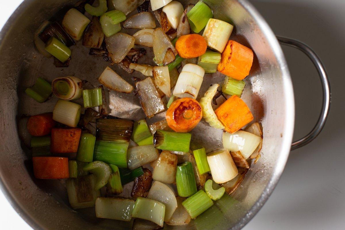 Dorar bien las verduras