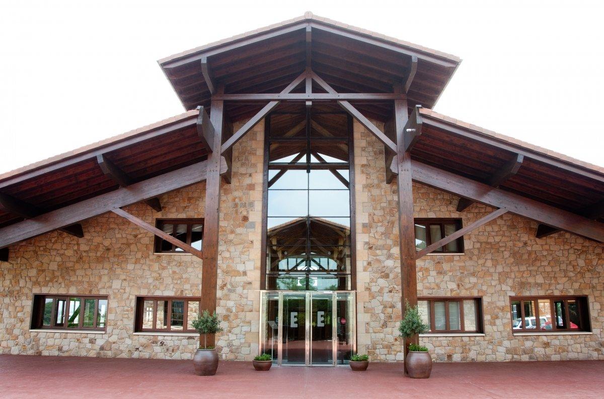 Edificio del restaurante Eneko Larrabetzu