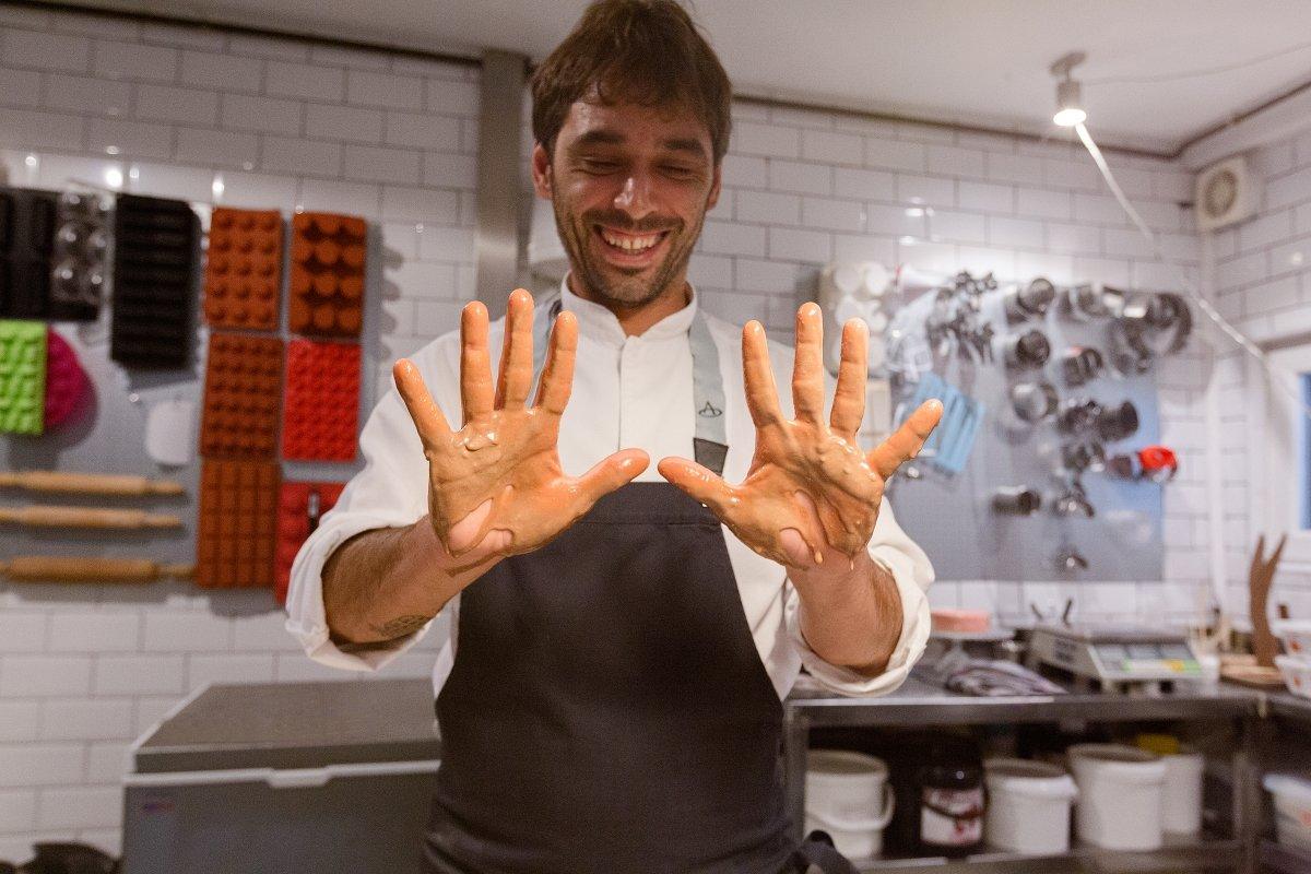 Eduardo Quintana, el chef que se bajó de la bicicleta para cocinar