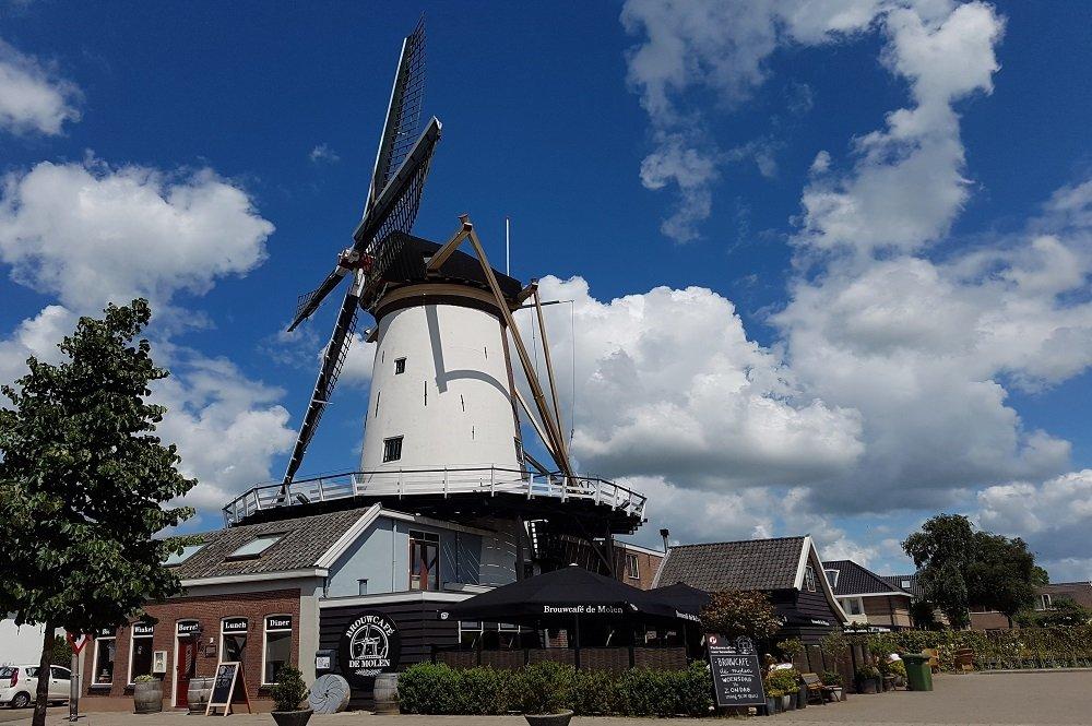 El Brouwcafe De Molen, lugar emblemático de la cervecería