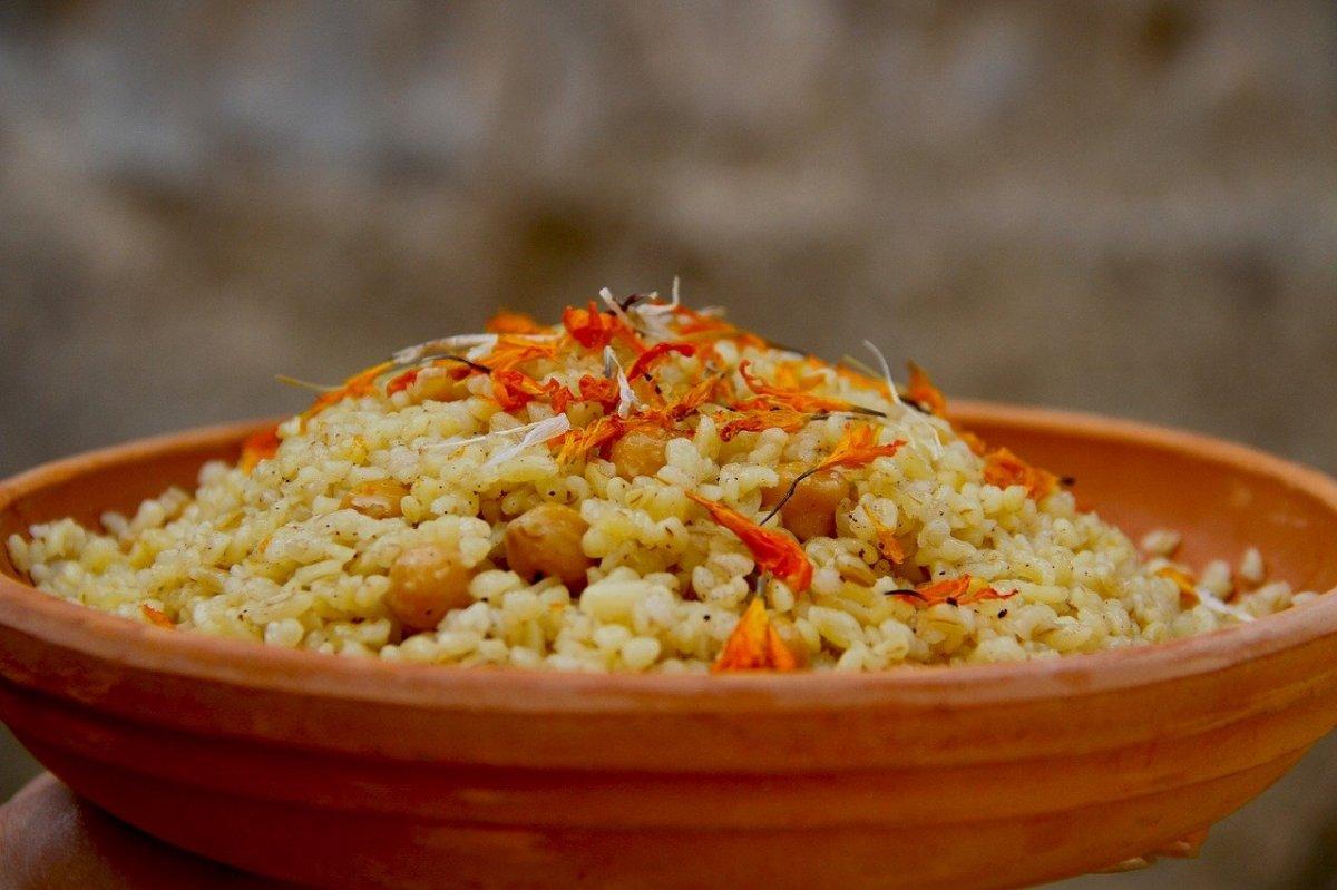 El bulgur es trigo pre-cocido