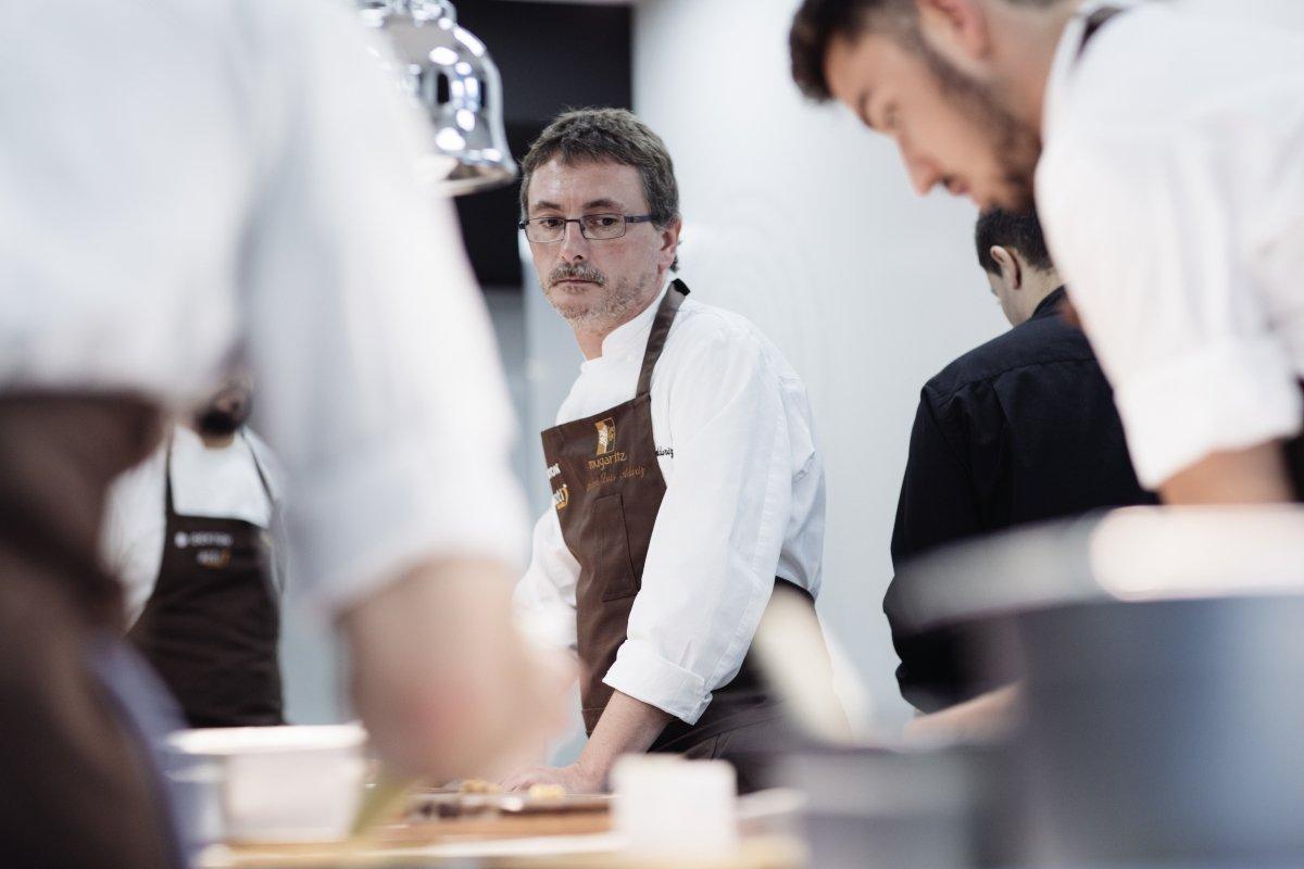 Andoni Luis Aduriz, emblema de la cocina vasca emocional