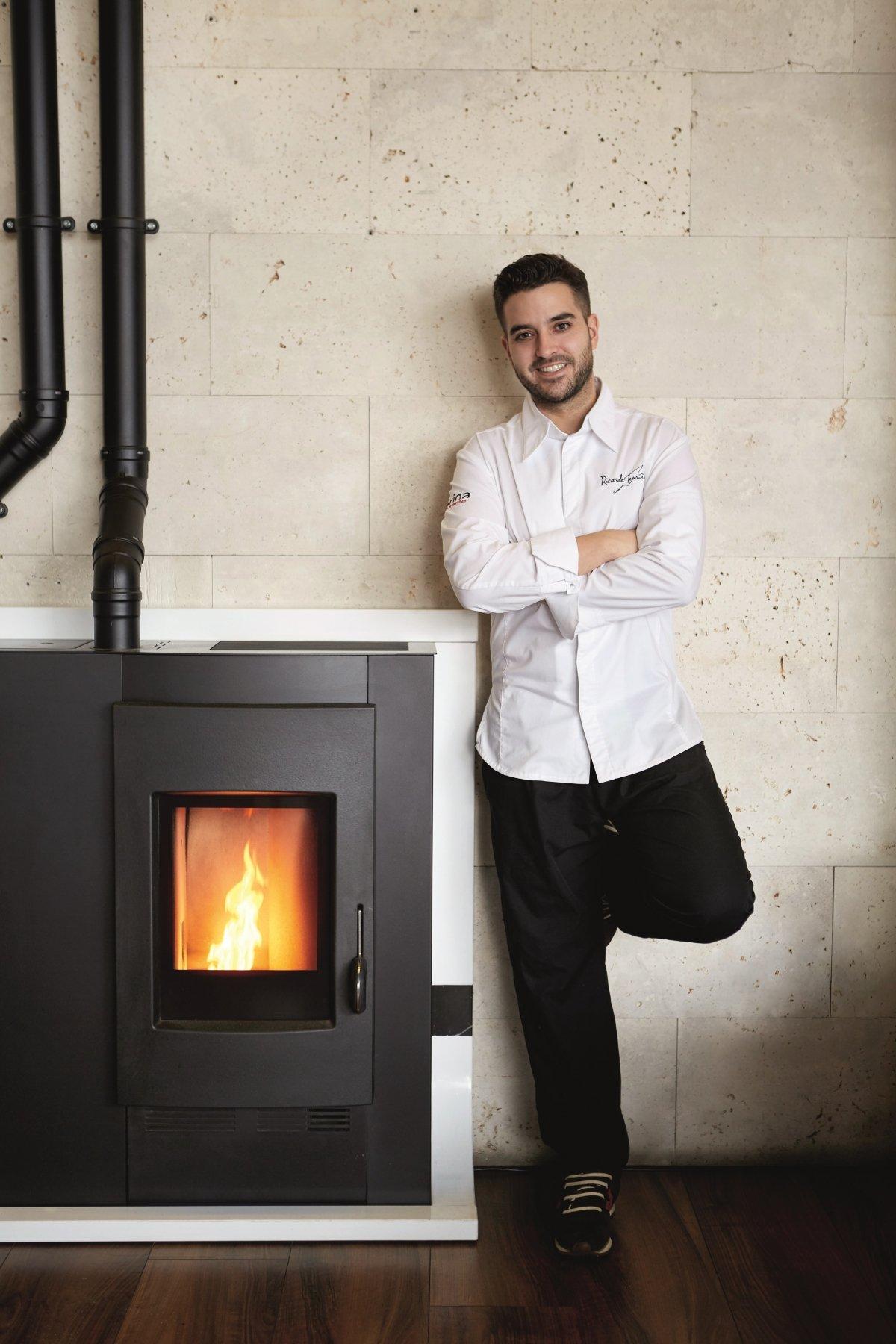 El chef Ricardo Temiño de La Fábrica Restaurante