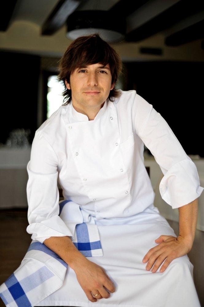 El chef Sergio Bastard