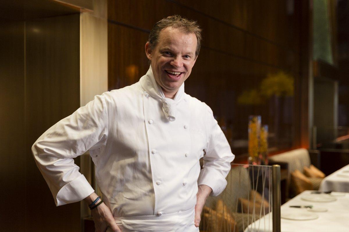 El cocinero del restaurante Amber, Richard Ekkebus