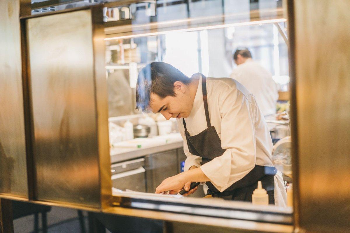 El cocinero Nanín Pérez del restaurante Murri