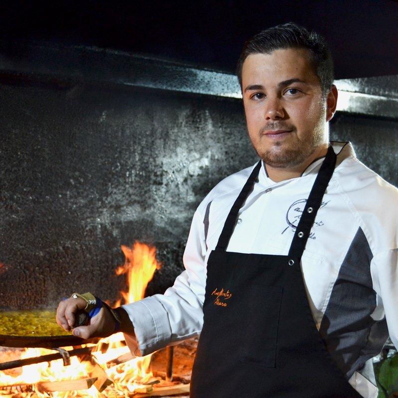 El cocinero Pablo Margós