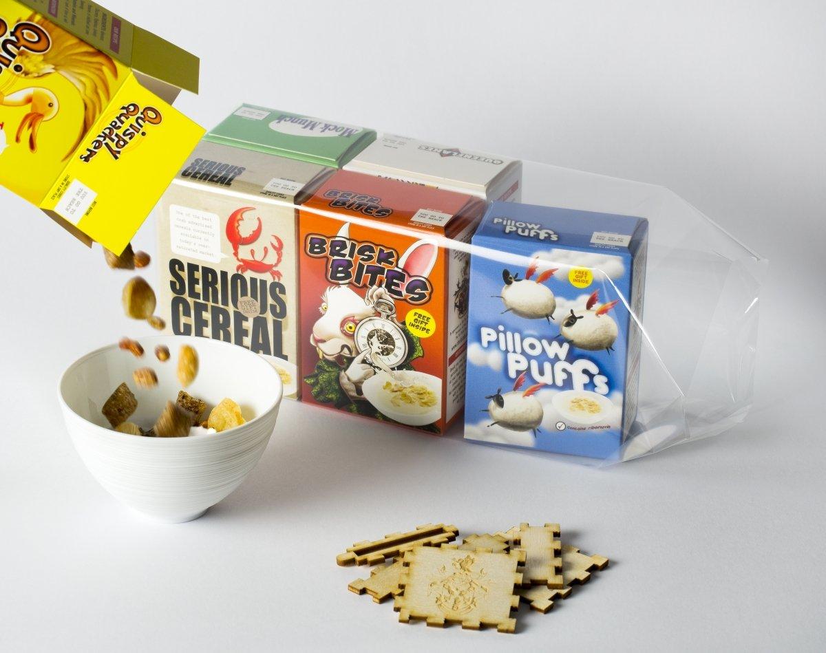El desayuno de cereales del restaurante The Fat Duck