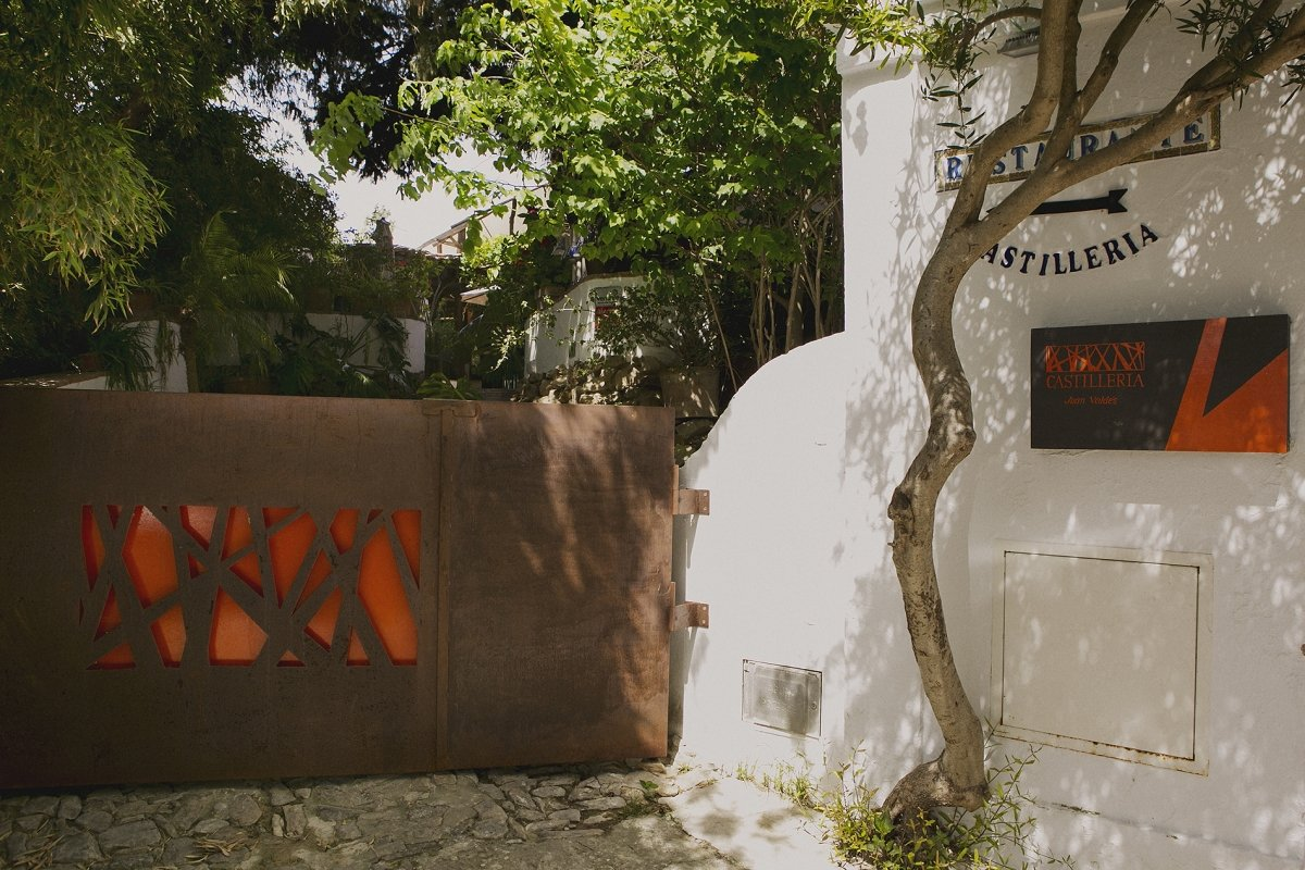 El exterior del restaurante Castillería