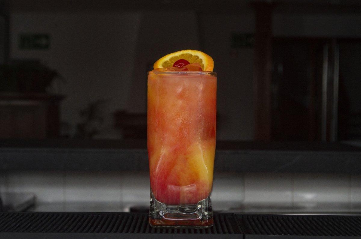El Tequila Sunrise está listo