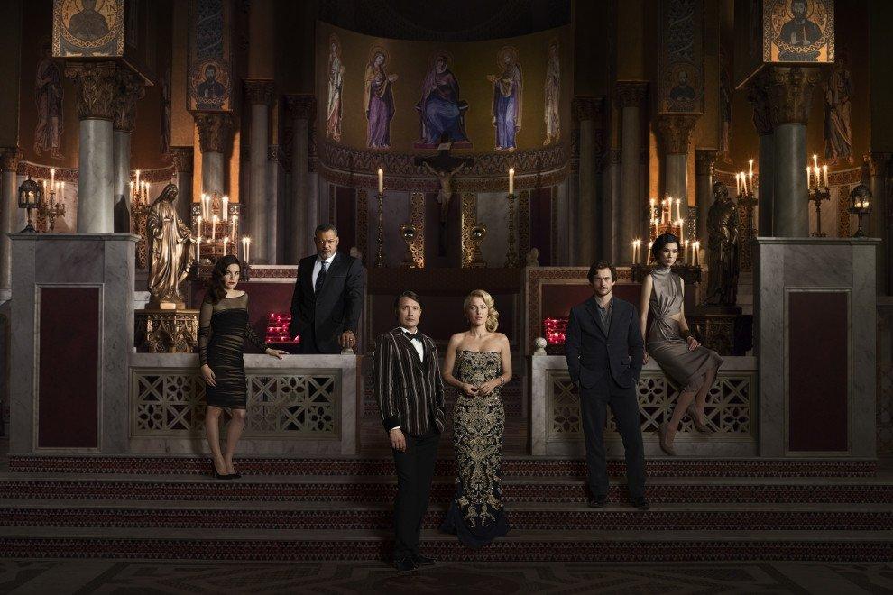 Elenco al completo de la serie de televisión Hannibal