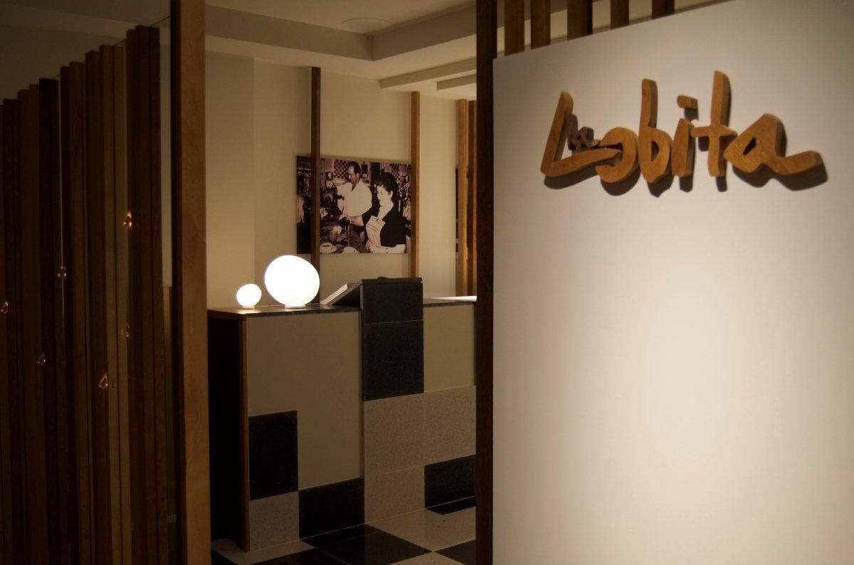 Entrada al restaurante La Lobita