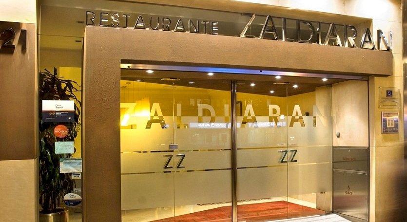 Entrada del restaurante Zaldiaran