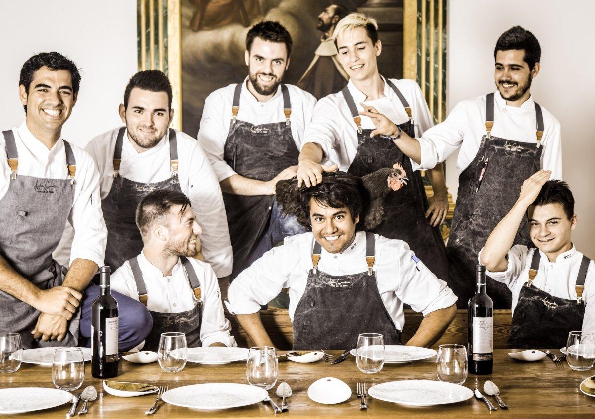 Equipo del restaurante Andreu Genestra