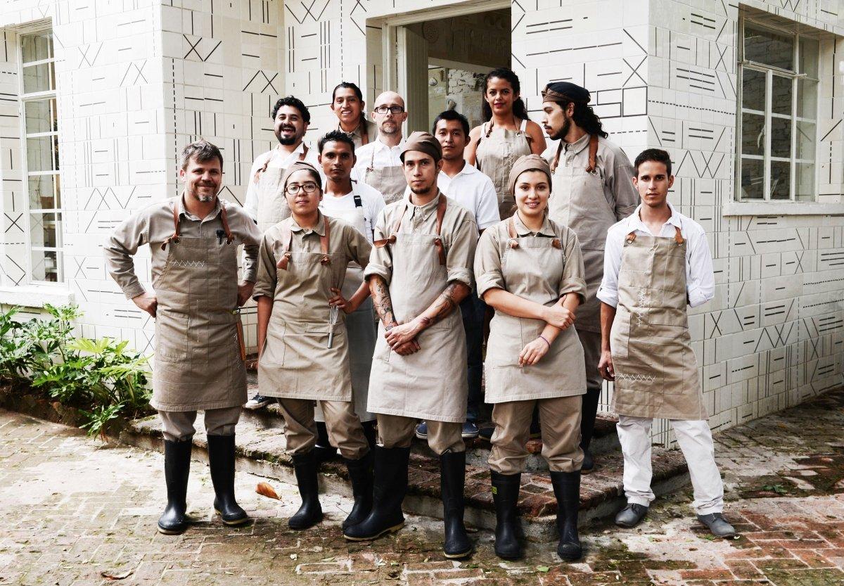 Restaurante Hueso, el transgresor hogar de Alfonso Cadena