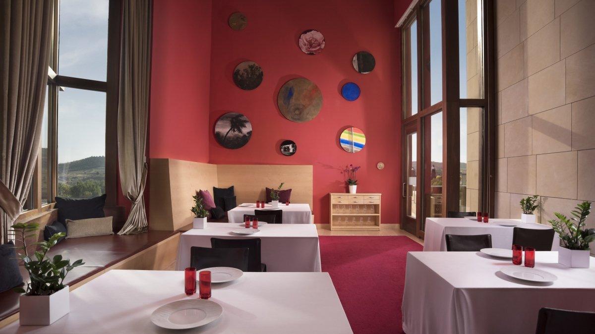 Espacio del restaurante Marqués de Riscal
