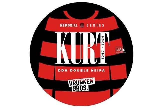 Etiqueta de Kurt para tiradores de cerveza