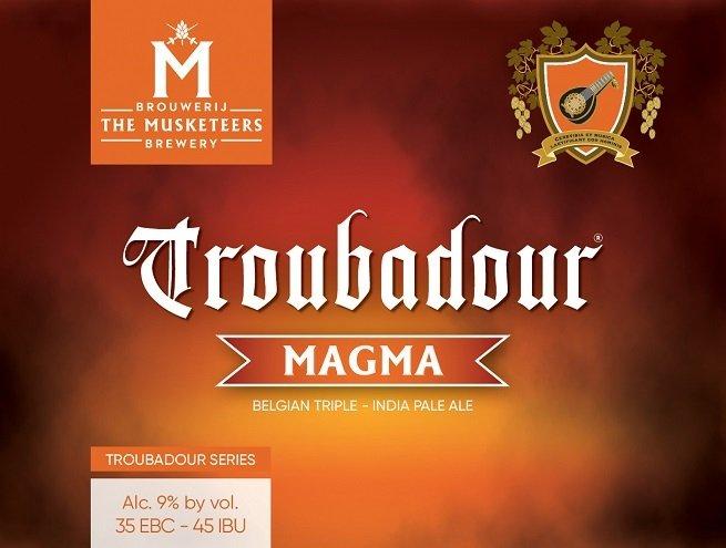 Etiqueta de Troubadour Magma